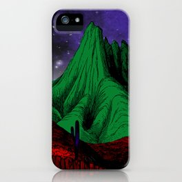 Painting in the Dark iPhone Case