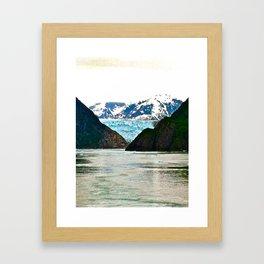 Glaciers Framed Art Print