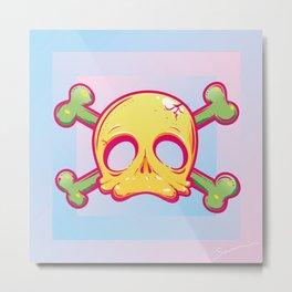Baby Skull Metal Print