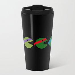 Pac-Turtles Metal Travel Mug