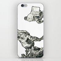 jurassic park iPhone & iPod Skins featuring jurassic by BzPortraits