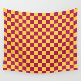 Checkered Pattern VII Wall Tapestry
