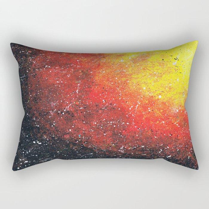solar storm Rectangular Pillow