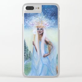 The Empress Clear iPhone Case