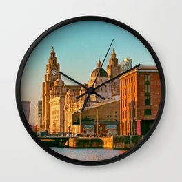 Pier Head and the Albert Dock Wall Clock