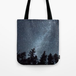Milky Way in the Woods | Nature and Landscape Photography Tote Bag