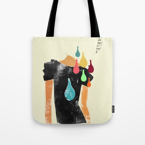 Love grows cold, blood, tears and gold won't make it any better Tote Bag