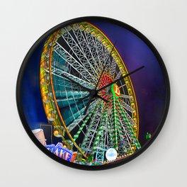 The Ferris Wheel Wall Clock
