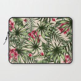Tropical leave pattern 9.4 Laptop Sleeve