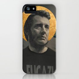 The First Straight Edge Saint iPhone Case