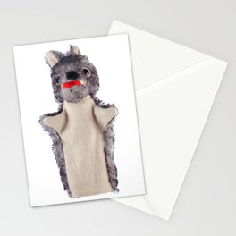 Big bad wolf Stationery Cards