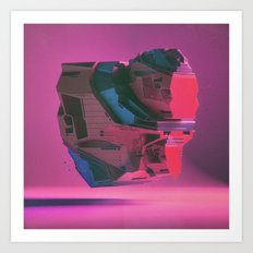 POSEIDON MECH-HEART SUPERJAM (everyday 11.17.15) Art Print