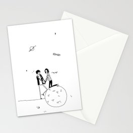 the summertime, and butterflies Stationery Cards