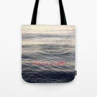 hakuna Tote Bags featuring Hakuna Matata by Christine Hall