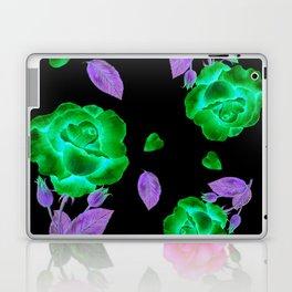 Shabby Chic Vintage Pink Rose Laptop & iPad Skin