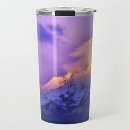 Meili Snow Mountain Shangri-la China Sunrise Travel Mug