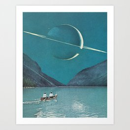 Space Exploration Kunstdrucke