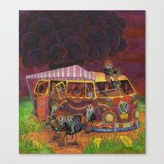 Doom Party Canvas Print