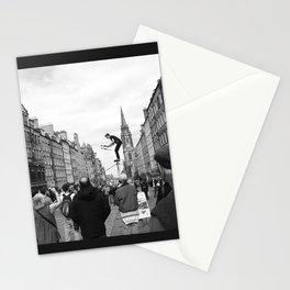 Edinburgh stuntman Stationery Cards