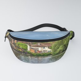 Eton College Chapel From The Thames Fanny Pack