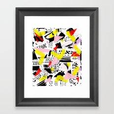 80's rocked Framed Art Print