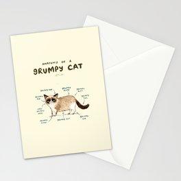 Anatomy of a Grumpy Kitty Stationery Cards