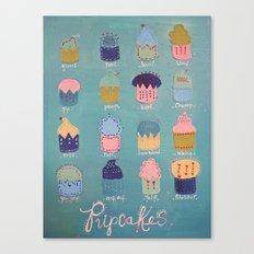 Pupcakes Canvas Print