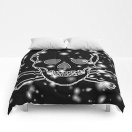 SPARKLEY SKULLS Comforters