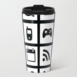 Web Icons Travel Mug