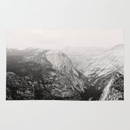 Yosemite Beauty (b&w)  Rug