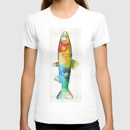 Rainbow Trout Art by Sharon Cummings T-shirt