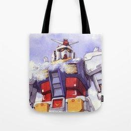 Gundam Rx-78-2 watercolor (large ver.) Tote Bag