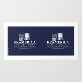 Kramerica Industries Art Print