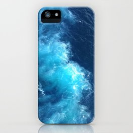 Ocean Blue Waves iPhone Case