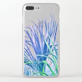 Pastel Palms Clear iPhone Case