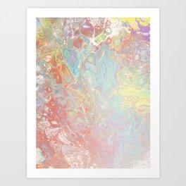 Janine's California Dreamin' Art Print