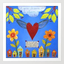 Magic Heart Art Print