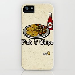 Fish 'n' Chips iPhone Case
