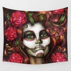 Victoria Rose Wall Tapestry