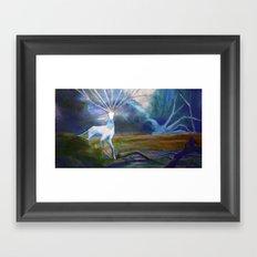 Forest spirit II Framed Art Print