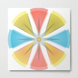 The colors circle Metal Print