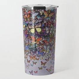 butterfly cascade Travel Mug