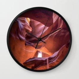 Arizona Antelope canyon Wall Clock