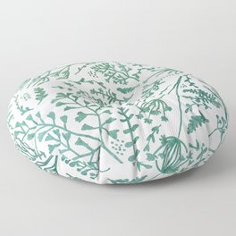 GREEN HERBS Floor Pillow