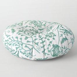 GREEN HERBS Floor Pillow