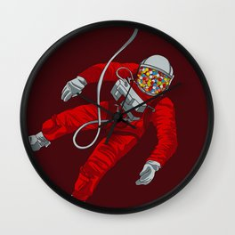 Cosmic Bubblegum Wall Clock