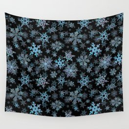 """""""Embroidered"""" Snowflakes Wall Tapestry"""