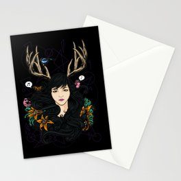 Fawn Girl Stationery Cards