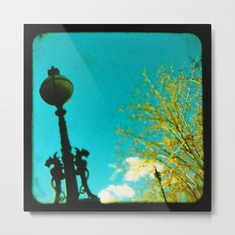 The Lamp Post Metal Print