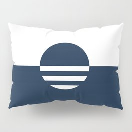 Milwaukee Wisconsin - Navy - People's Flag of Milwaukee Pillow Sham